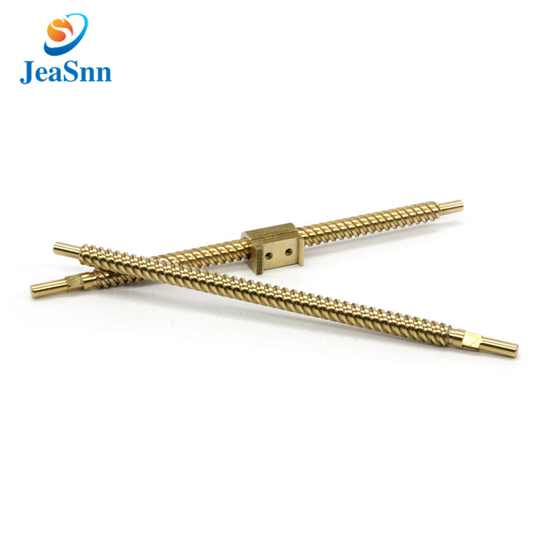 T5 T8 T10 trapezoidal rod brass ball lead screw shafts