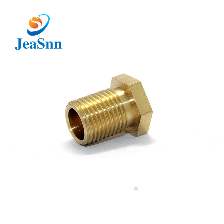Threaded Copper Decorative M8 Hexagonal Brass Screw