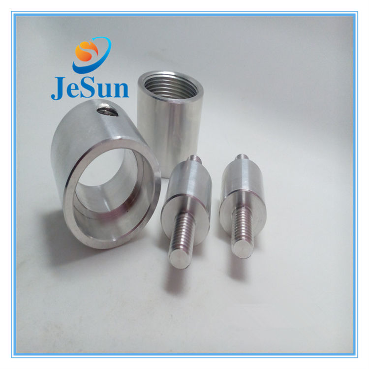 Cnc Precision Aluminum Machined Parts And Turning Part And Double Thread Screw for sale