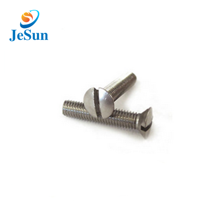 Good quality slotted mushroom head screws for sale