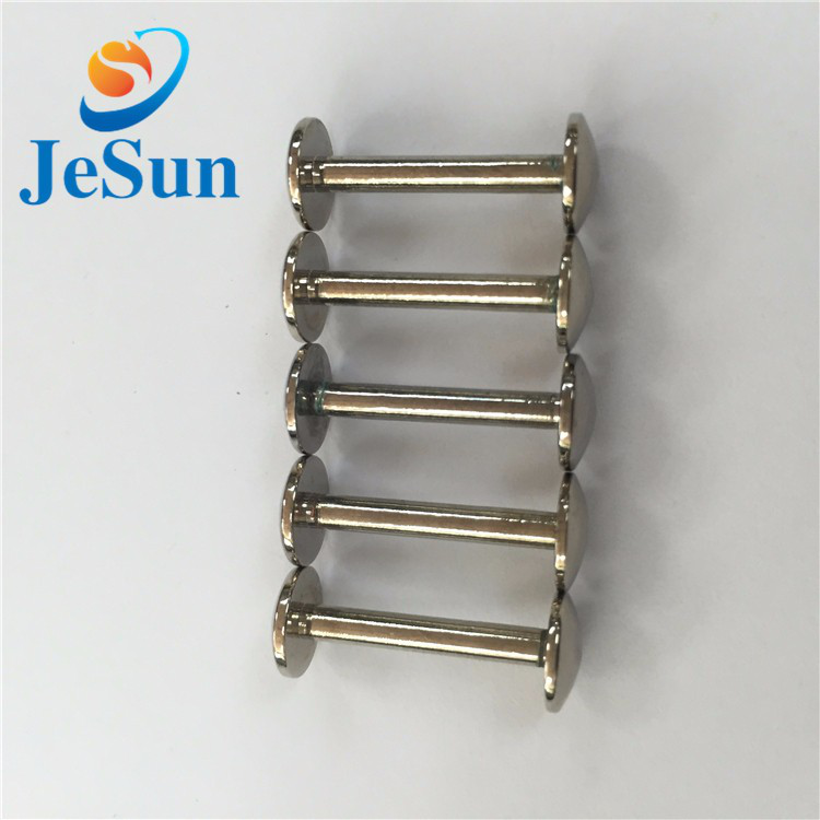 Customized stainless steel chicago screws for sale