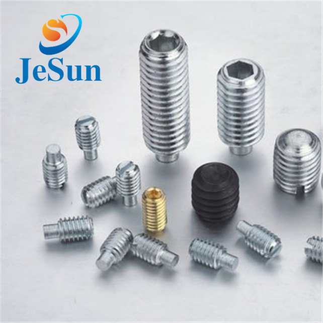 Stainless steel cup point set screw for sale