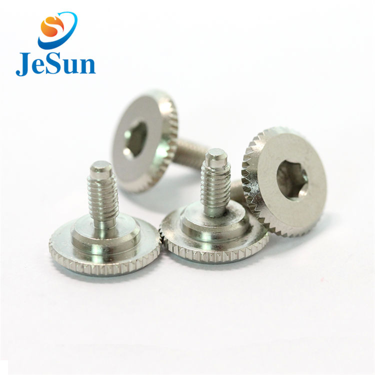 OEM various slotted knurled thumb screw for sale