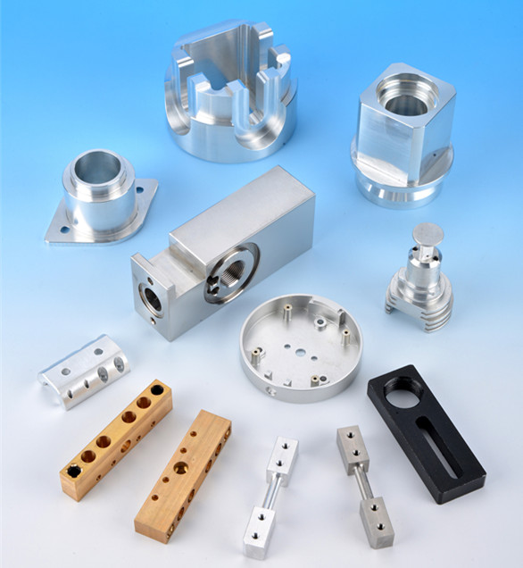 The production process of  CNC machining Aluminum parts