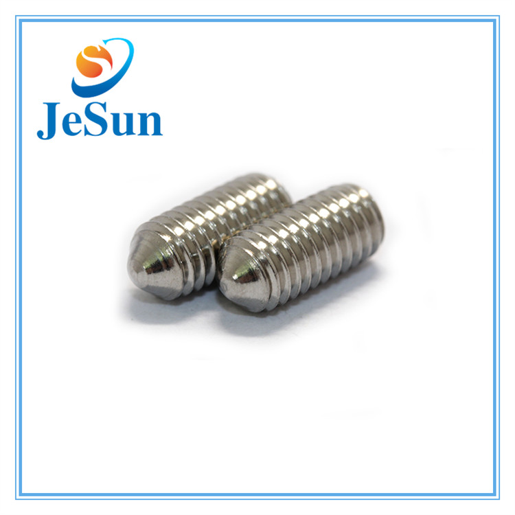 Stainless Steel Embossing Slotted Set Screws for sale