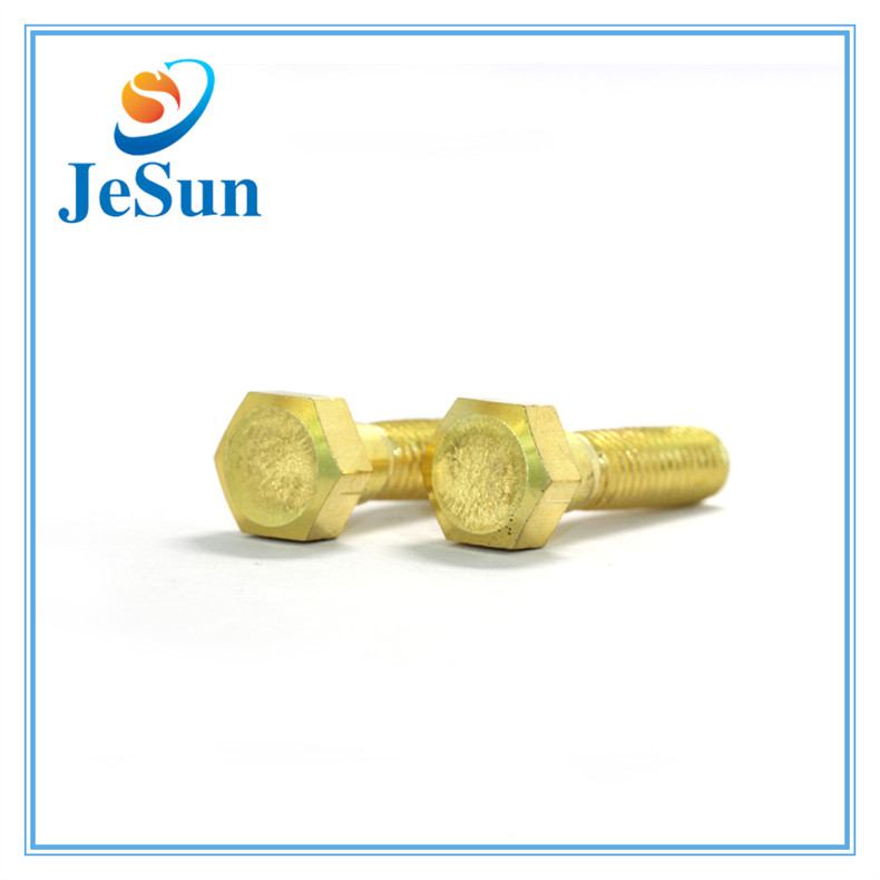Brass Hex Cap Screw with ISO Certificate for sale