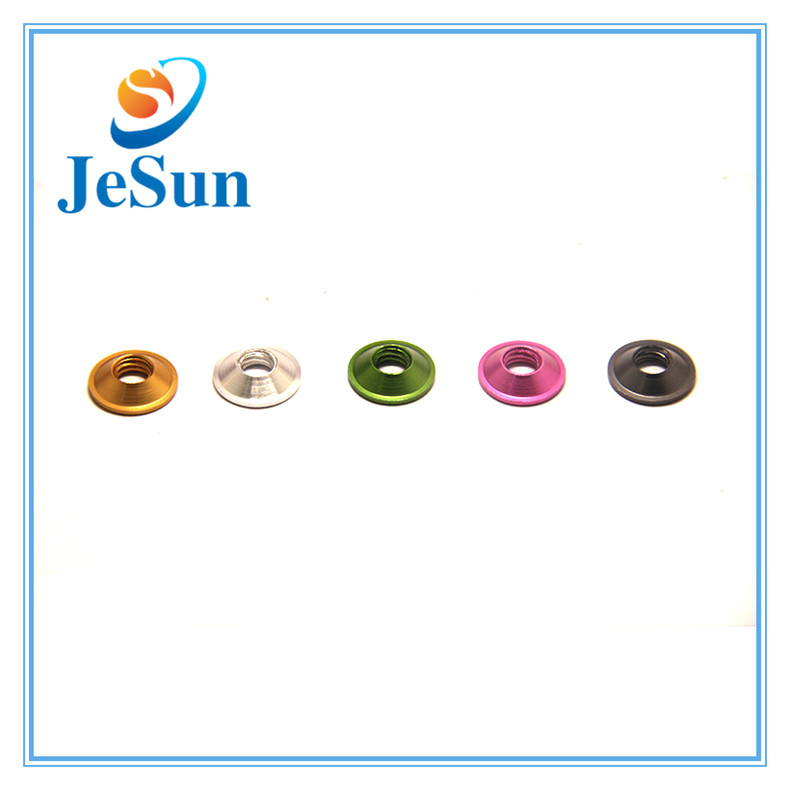Aluminum Alloy Colorful Anodized Countersunk Washer for sale