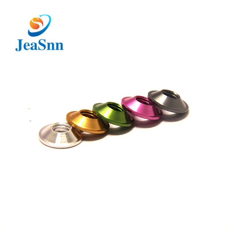 Color Anodized Aluminum Flat Washers for Fishing Rod for sale