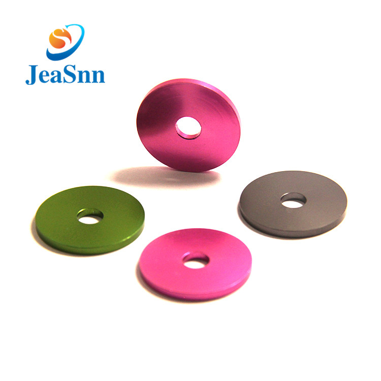 Anodized Finishing Aluminum Beauty Washers Countersunk Washers for sale