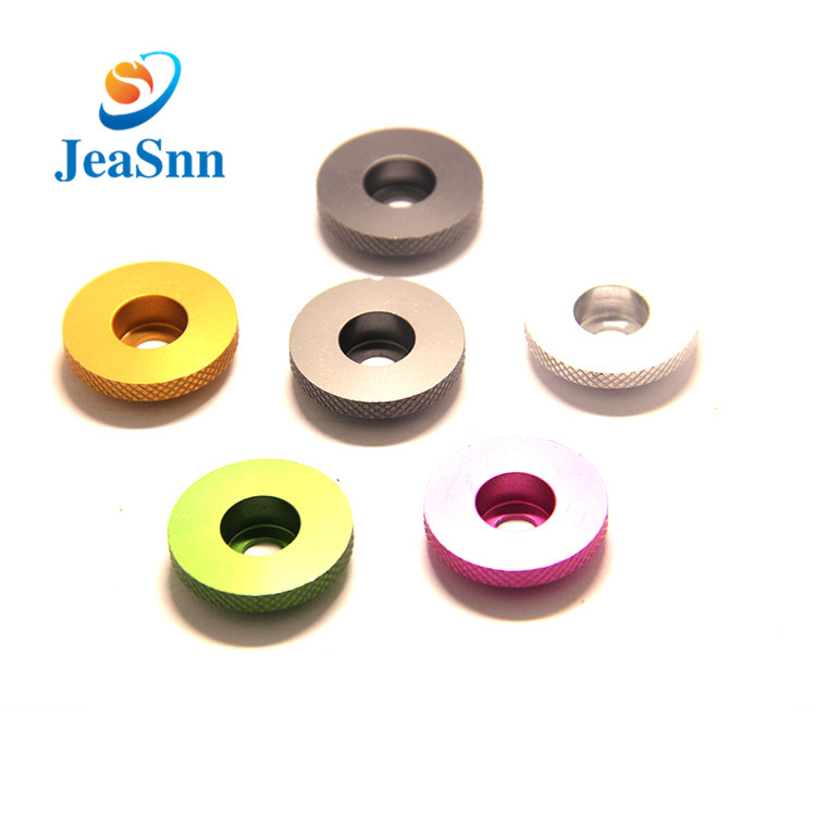 Manufacturer Supply anodized colored metal flat washers for Fishing Rod for sale