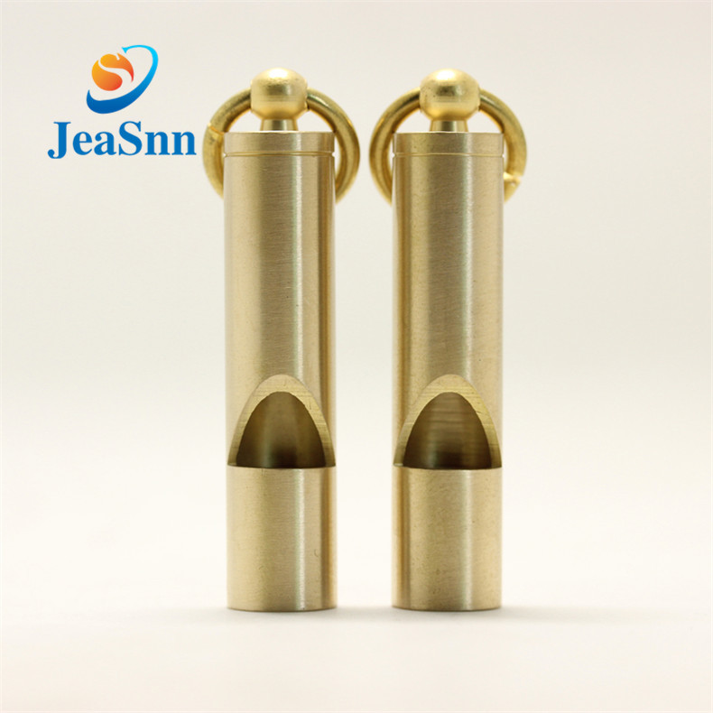 I-China Custom Metal Survival Brass I-Whistle Sport Copper Safety Whistle