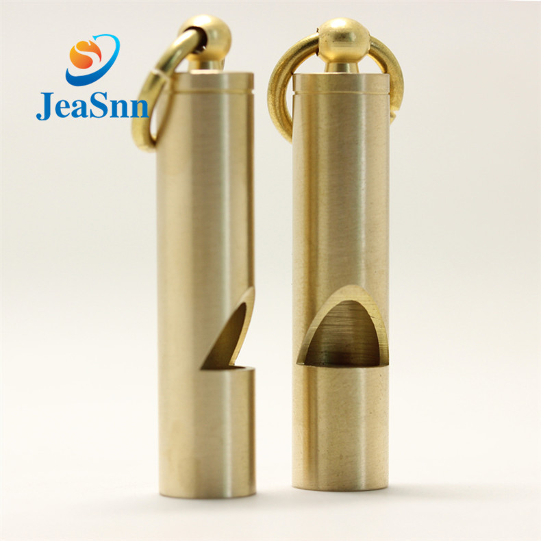 China Custom Metal Survival Brass Whistle Sport  Copper Safety Whistle for sale
