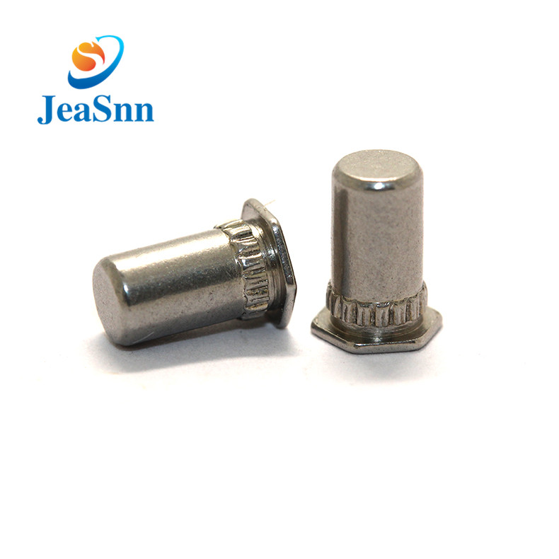 OEM ODM Chrome Hex Head Blind Rivets for Pcb for sale