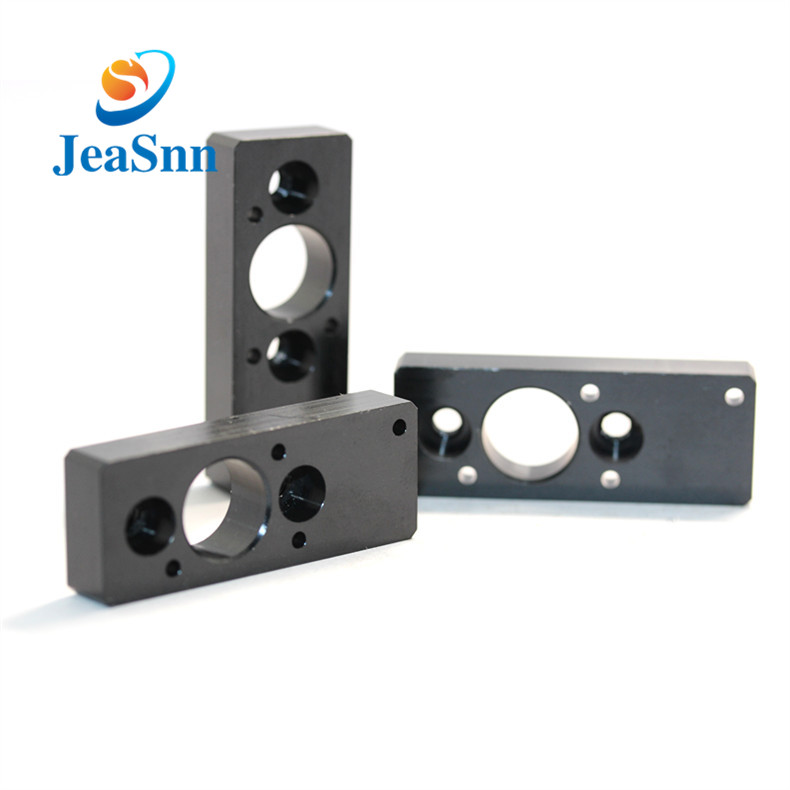 Black Anode Cnc Machining Aluminum Parts for sale
