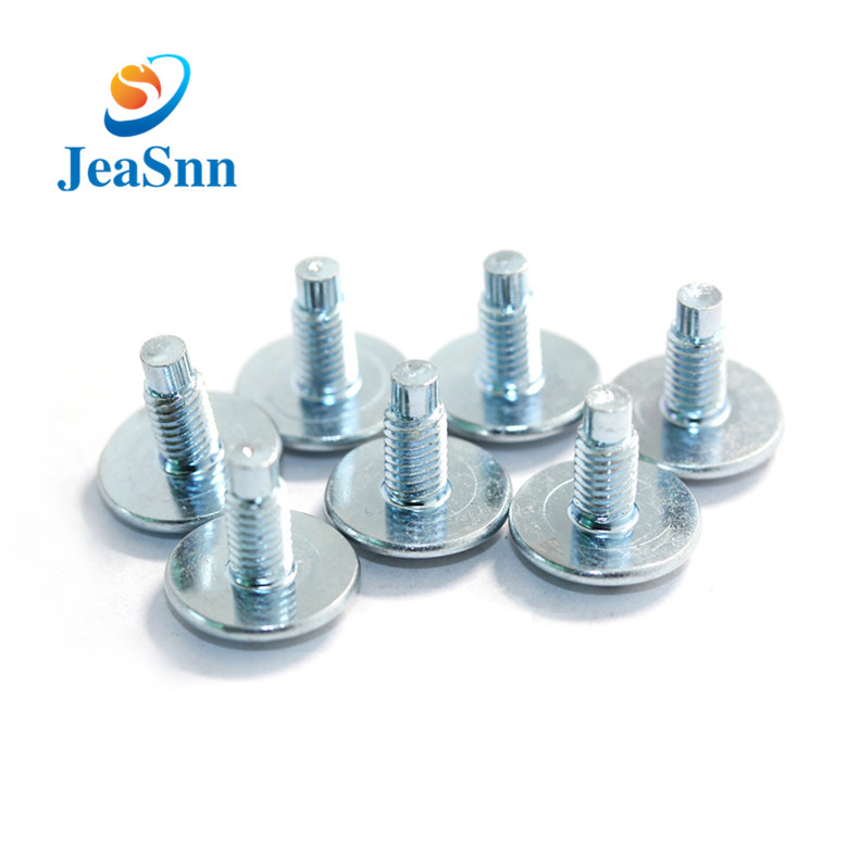 Steel Blue Zinc Plating Slot Screws for sale