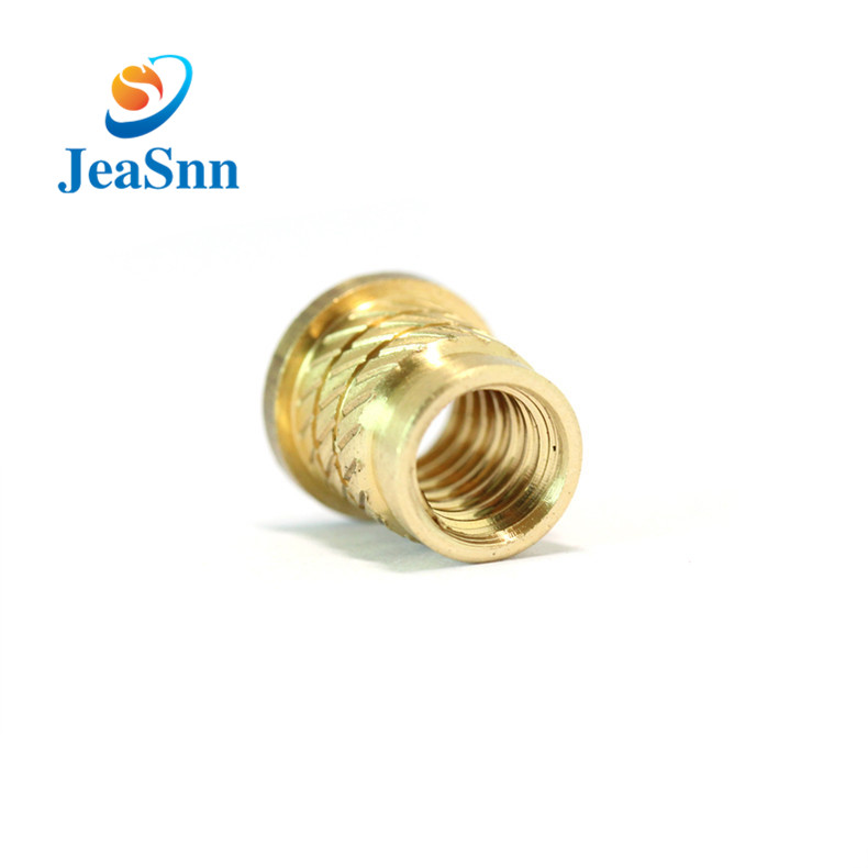 Cnc Turning Brass Threaded Insert Nut for sale
