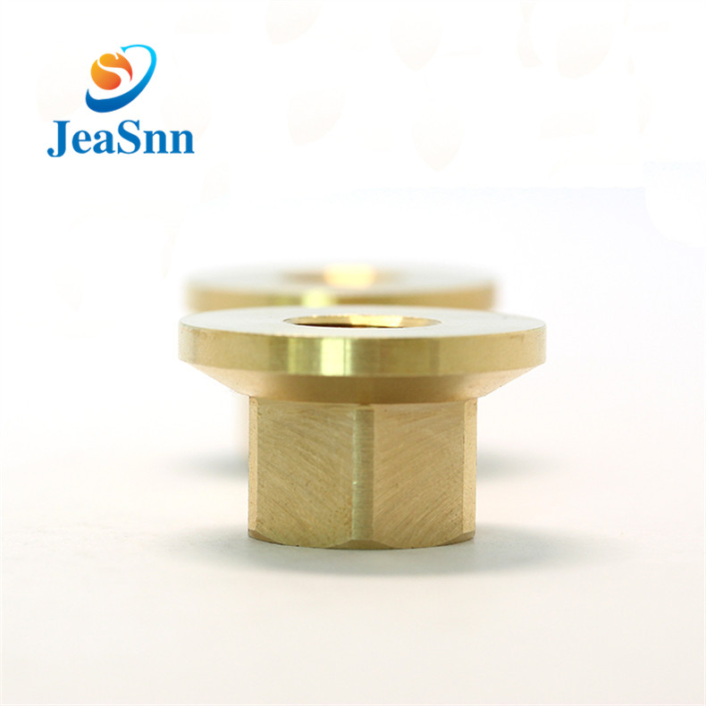 High Quality Brass Hex Flange Nut Factory for sale
