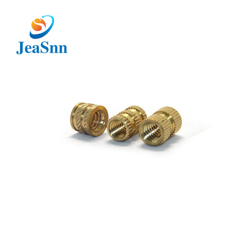 Brass Molding Knurled Insert Nuts,Brass Threaded Insert Nuts for sale
