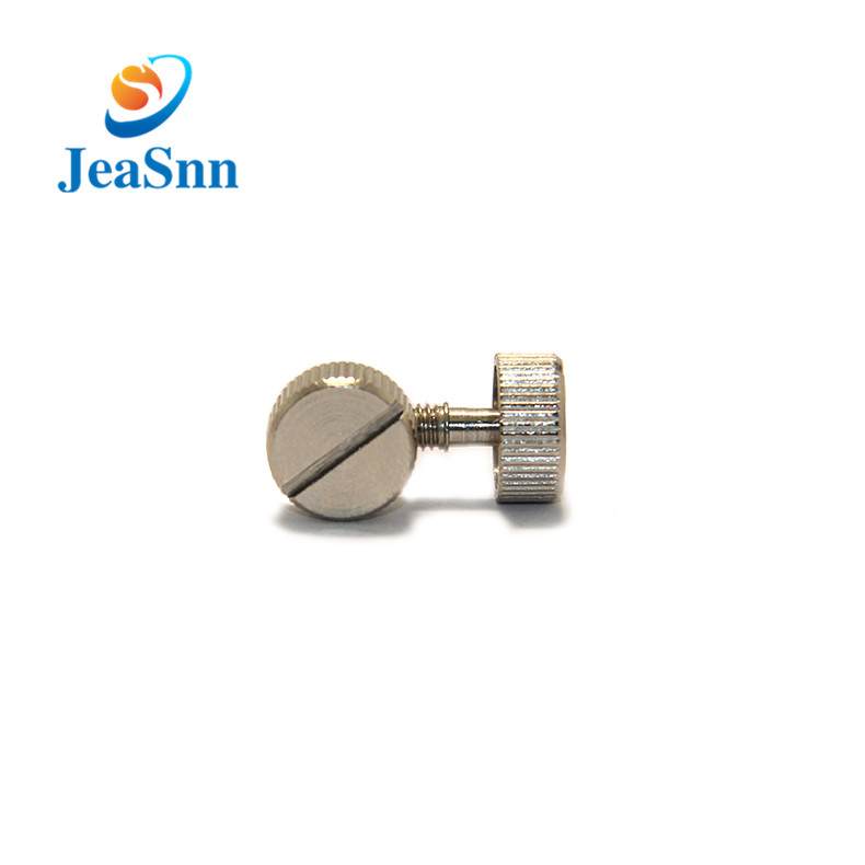 Manufacturing Metric Slotted Thumb Screws for HouseholdAppliance for sale