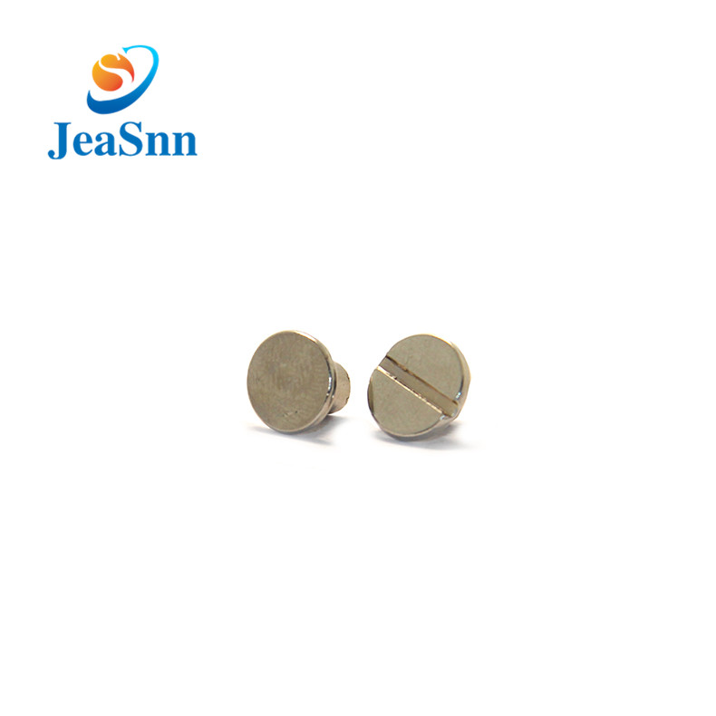 China OEM Book Binding Fasteners Male and Female Chicago Screws for sale