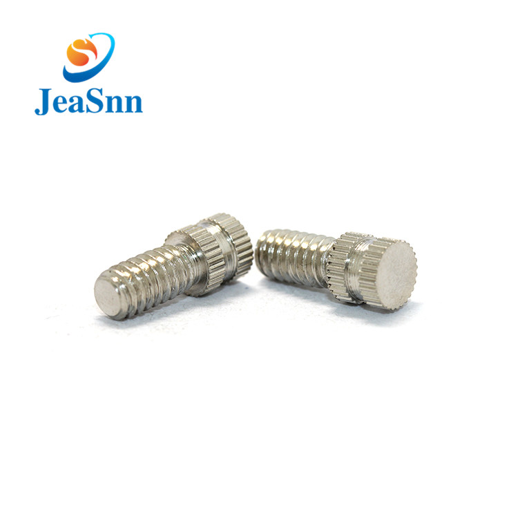 China Manufacturing Anodized Round Thumb Screws for sale