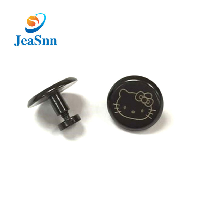Factory Supply Aluminum Male and Female Decorative Book Screw With Logo for sale