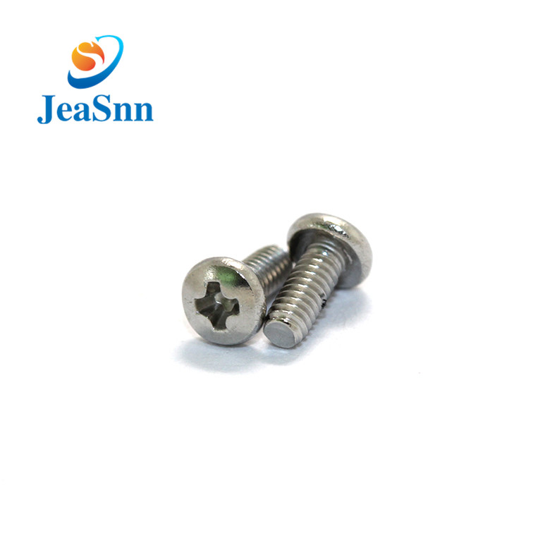 Cross ynspringende pan head screws