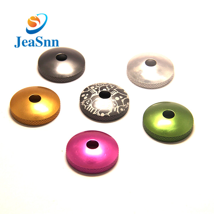 Custom Colored Metal Flat Washers Anodized Aluminum Washers for sale