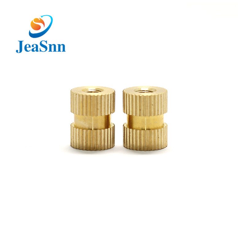 M2.5 Molding Threaded Knurled Injection Brass Insert Nuts for sale