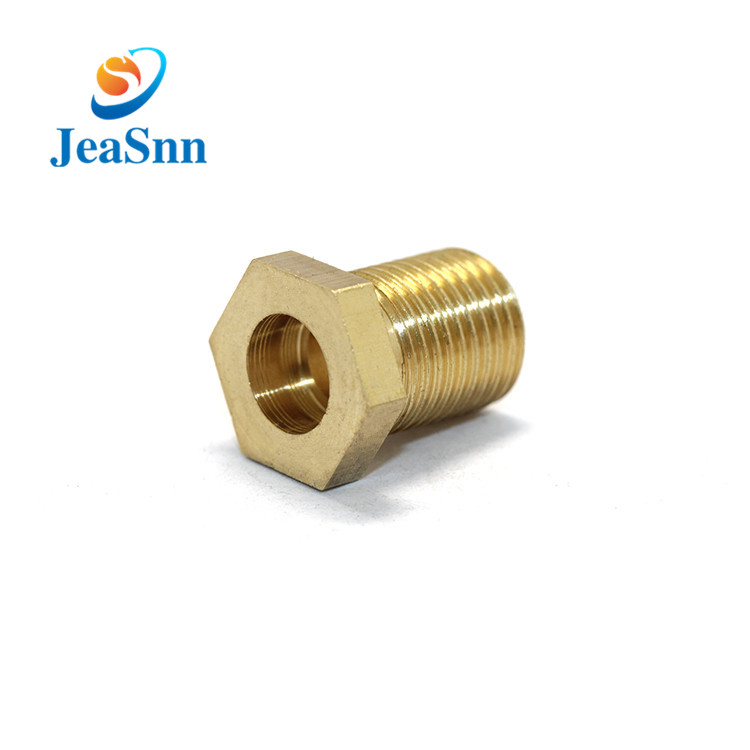 Threaded Copper Decorative M8 Hexagonal Brass Screw for sale