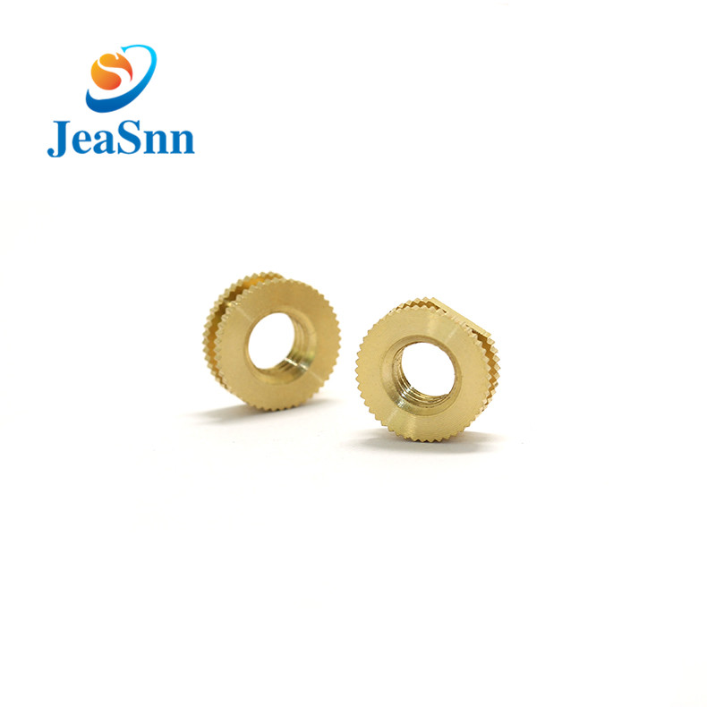 Plastic M8 Brass Threaded Insert Nut for sale
