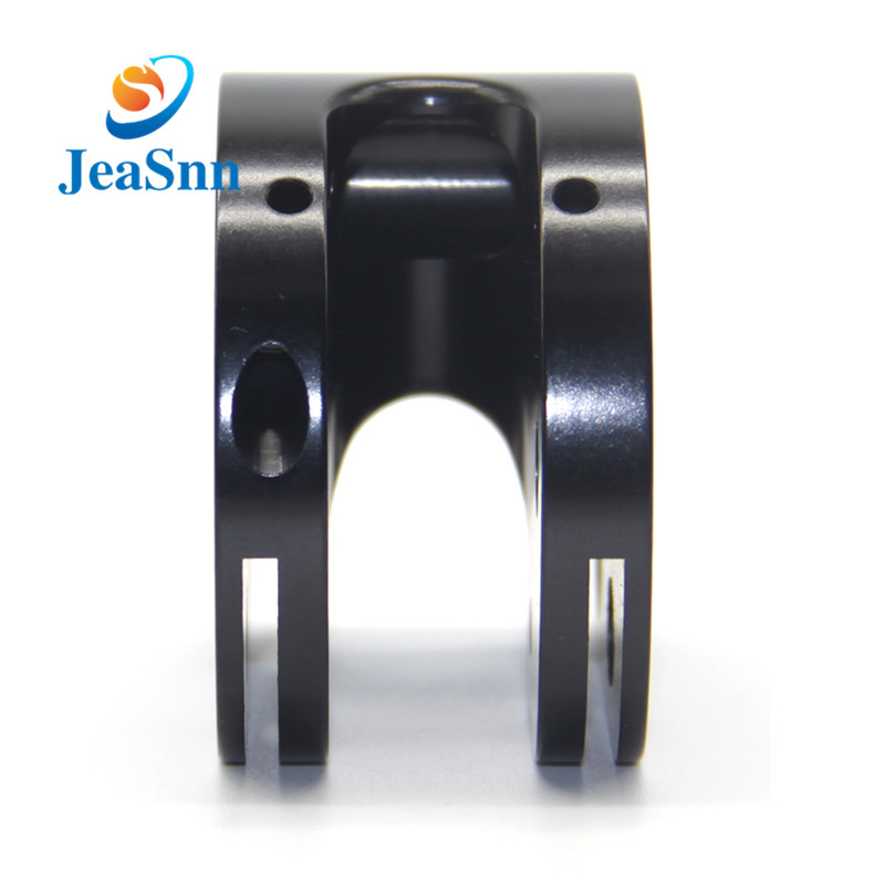 China Custom CNC Parts Black Anodized machined parts for sale