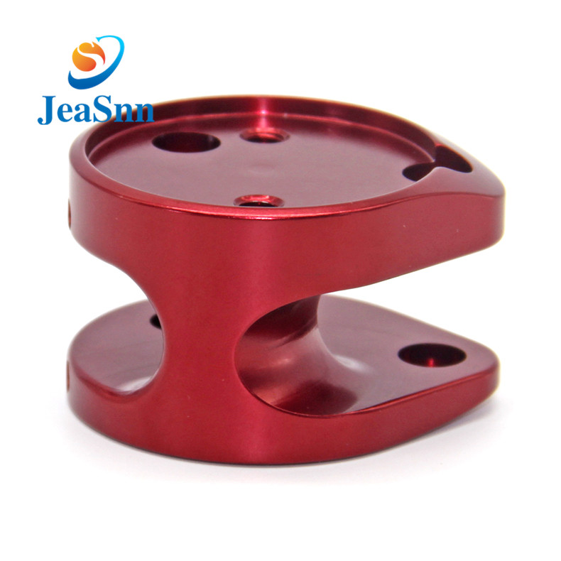 Customized CNC milling anodizing aluminum parts for fall protection equipment for sale