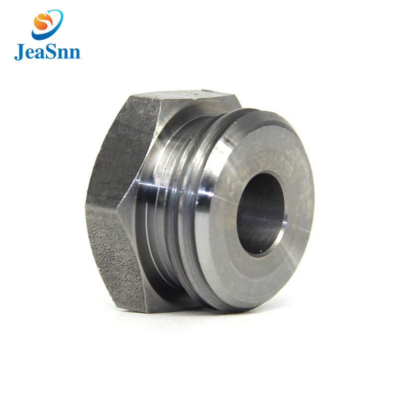 Color Zinc Plating Hex Push Button Nut Regular Concave Flat Switch Nut for sale