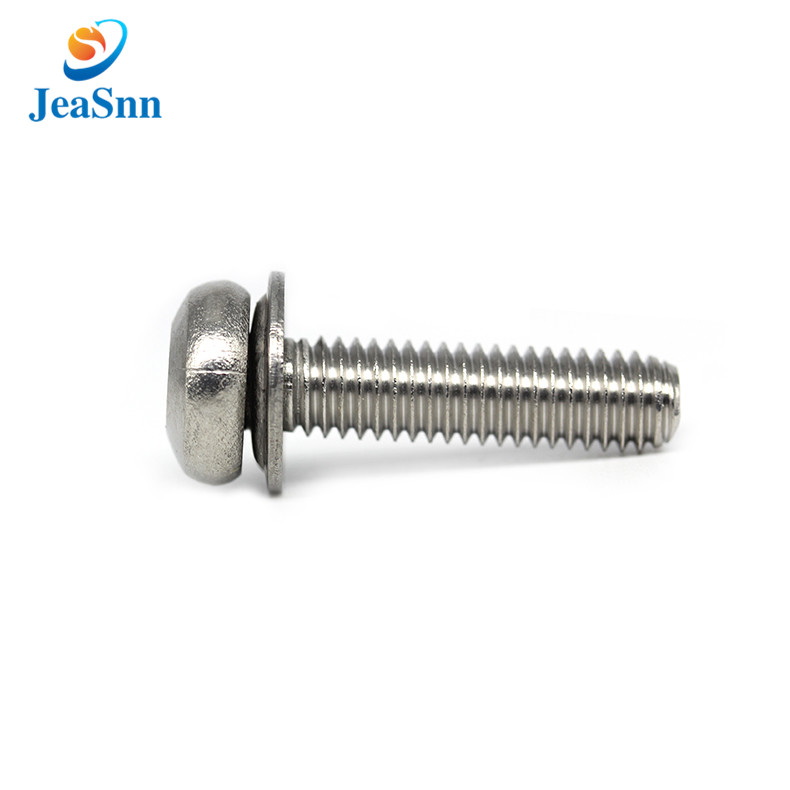 Electrical Stainless Steel Round Head Torx Screw with Washers for sale