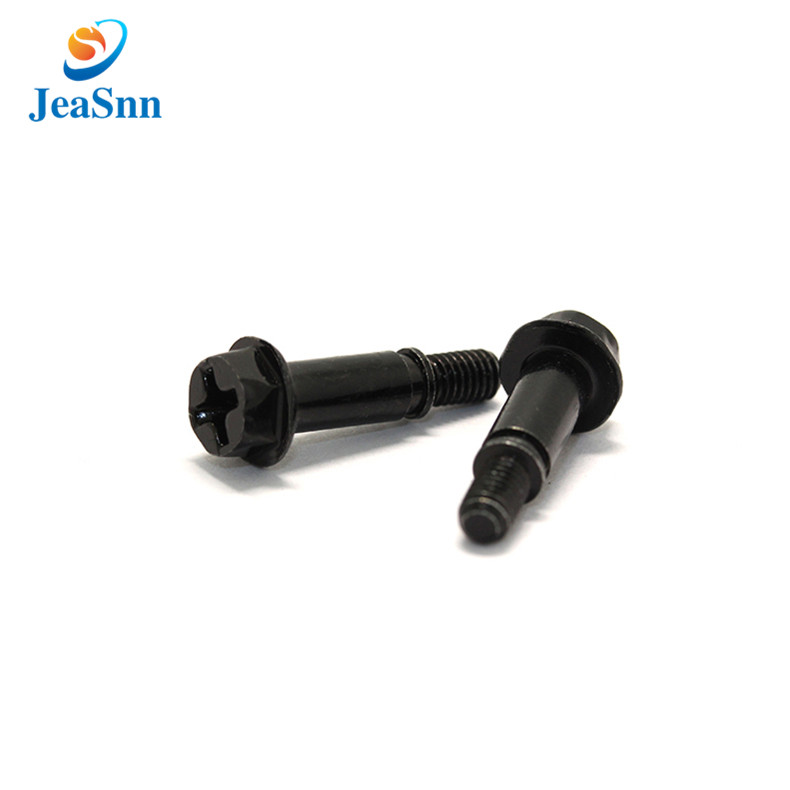 Black Color Stainless Steel Special Head Screw for Heat Sink for sale