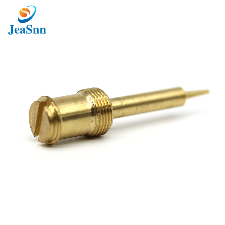 CNC Turning Service Brass Parts Car Engine Hardware Components for sale