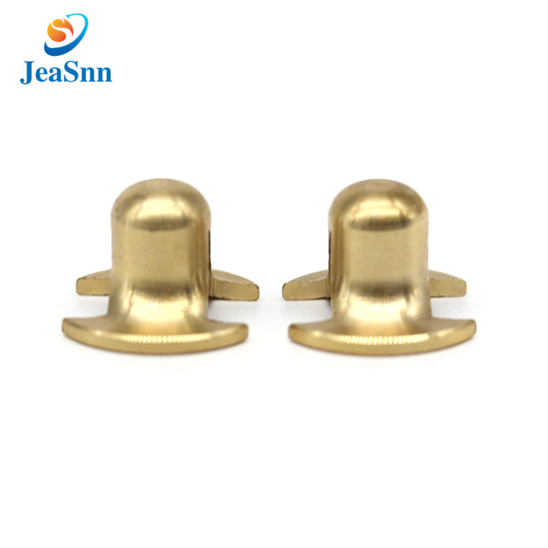 Custom made machining small brass auto spare parts prototype for sale
