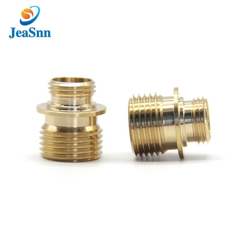 Cnc Machinery Small Hardware Brass Knurled Parts for sale