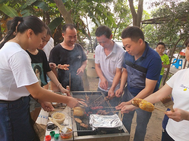 Barbecue Activity on Weekend
