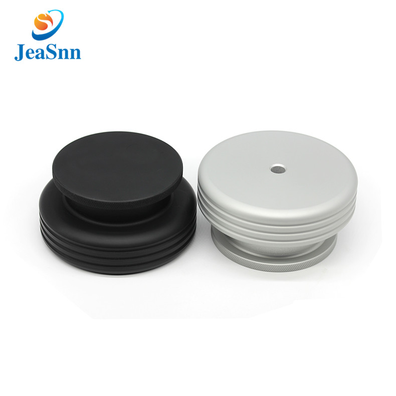 Record Player Anodized CNC Parts Turntable Weight Aluminum Parts for sale