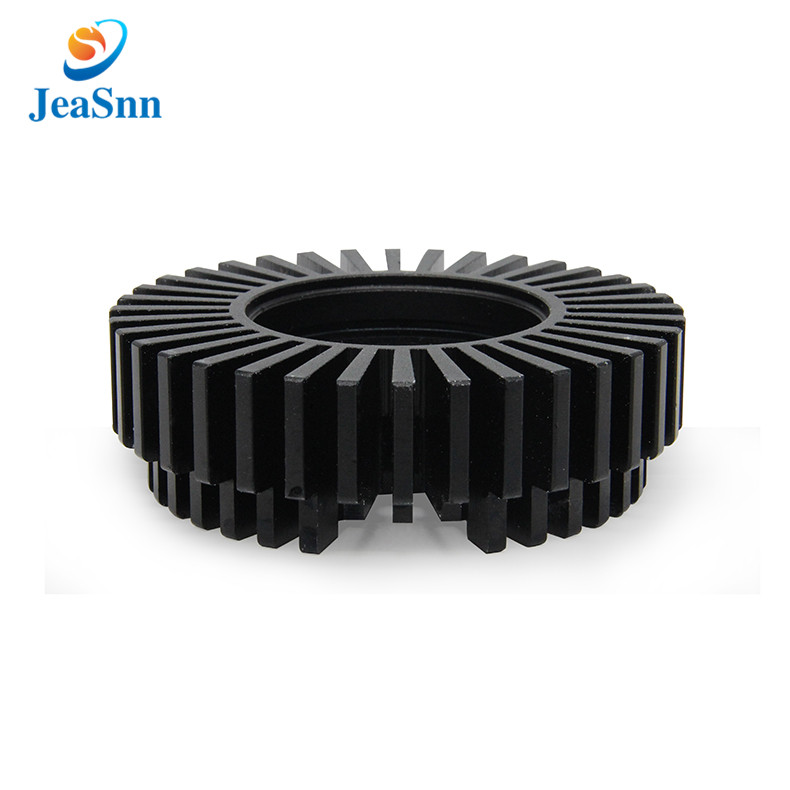 China Custom Led Heat Sink Round Aluminum Heatsink for sale