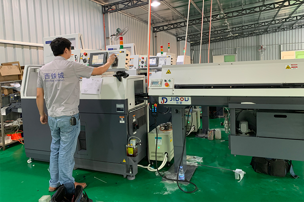 Jeasnn New CNC Machine Milling and Workshop --- CITIZEN