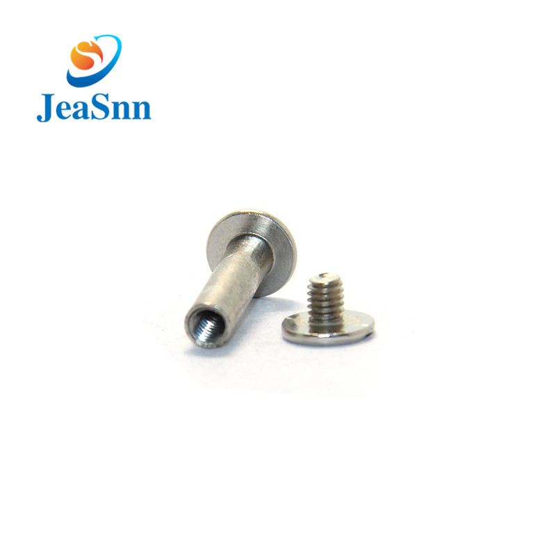 Male and female screw post binding for sale