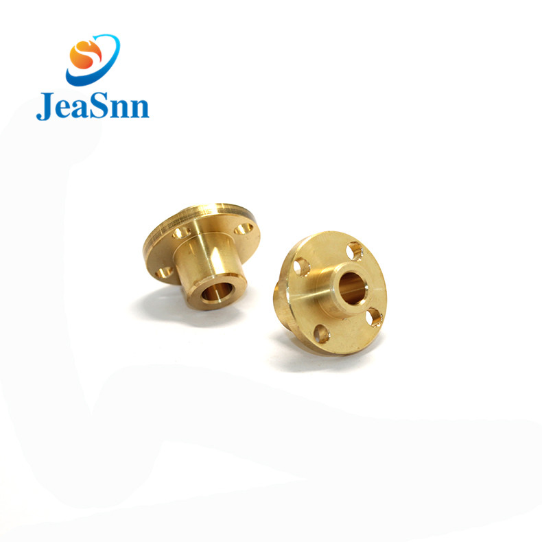 Lead screw trapezoidal threaded rods with brass nuts for sale