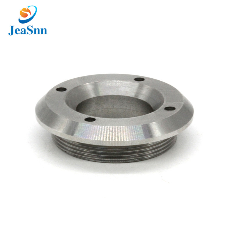 Precision SUS303 CNC turning parts stainless steel top nut for sale