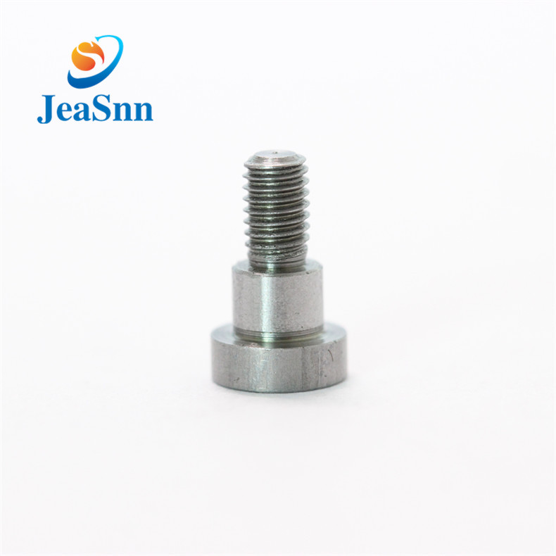 Custom slotted shoulder bolts precision stainless steel shoulder screw for sale