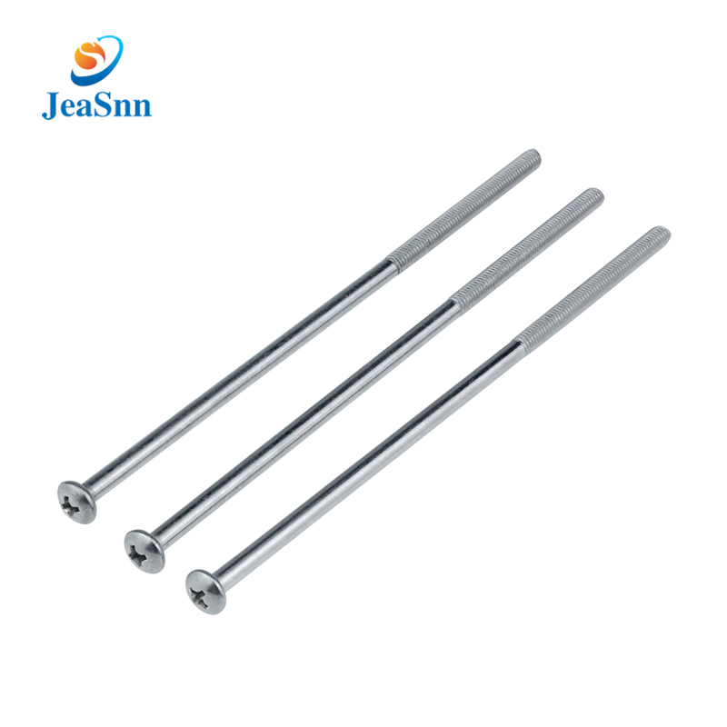 Phillips pan head machine boltsthin extra stainless steel long screws for sale