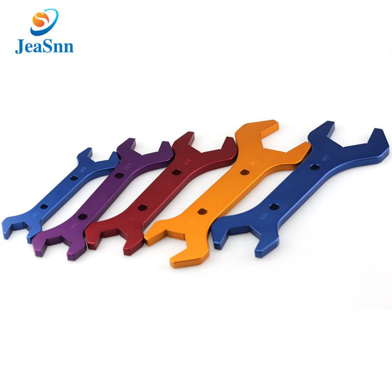 Aluminum AN fitting wrenches Set double open end aluminum spanner for sale