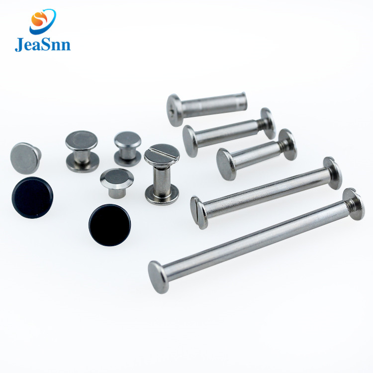 Sex bolt skateboard countersunk stainless steel binding post screw decorative chicago screws male and female screw fasteners for sale
